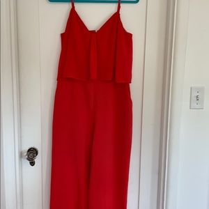Chelsea28 Red Jumpsuit | L
